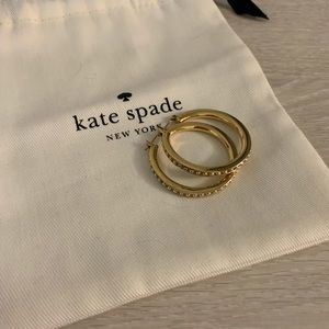Kate Spade Gold Hoop Earrings